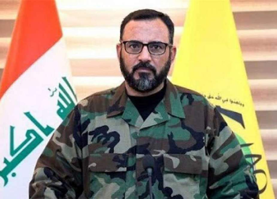 Nasr al-Shammari- Spokesman for Iraq's al-Nujaba Movement.jpg
