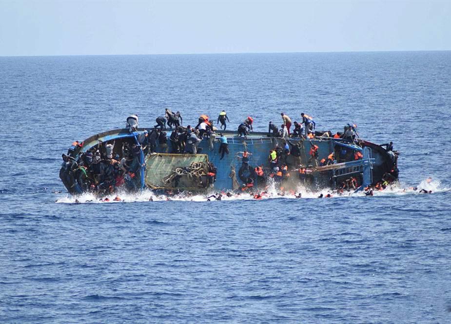 Avropaya gedən 57 miqrant Aralıq dənizində batdı