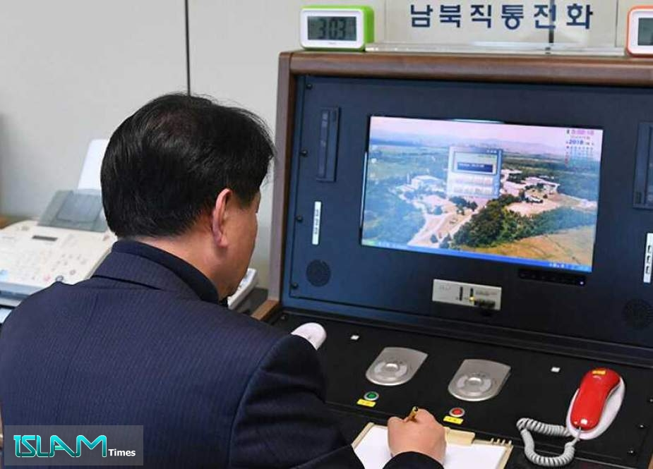 North & South Korea Reopen Communication Hotline after Year of Silence