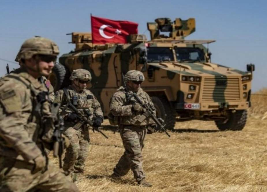 الجيش التركي ومرتزقته يقصفون عددا من القرى بريفي حلب والحسكة