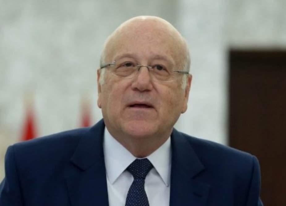 ميقاتي: هناك ضمانات دولية وأميركية لعدم انهيار لبنان