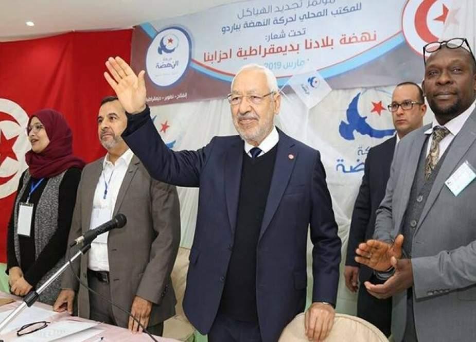 حزب النهضة التونسي يدعو إلى الحوار للخروج من الأزمة السياسية