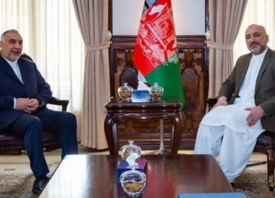 أتمر يشيد بموقف إيران العقلاني من عملية السلام الأفغانية