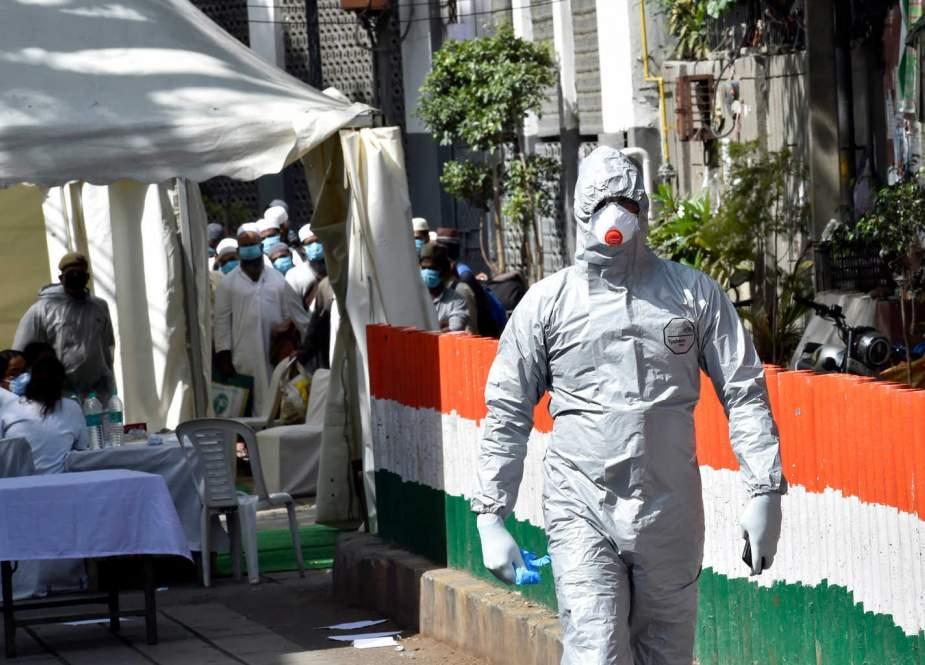 بھارت میں کورونا وائرس کے 29689 نئے کیسز، 415 افراد ہلاک