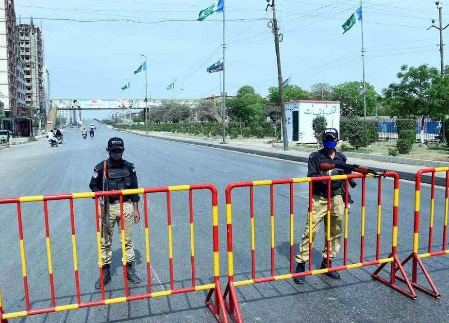 کراچی میں اسمارٹ لاک ڈاؤن پر عمل درآمد شروع