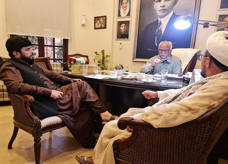 ایم ڈبلیو ایم وفد کی مشیر وزیراعلیٰ سندھ وقار مہدی سے ملاقات