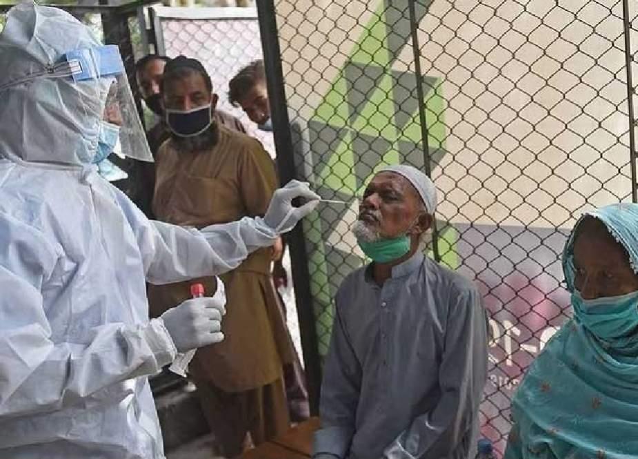 کراچی میں کورونا وبا کے دوران ایک دن میں سب سے زیادہ کیس رپورٹ