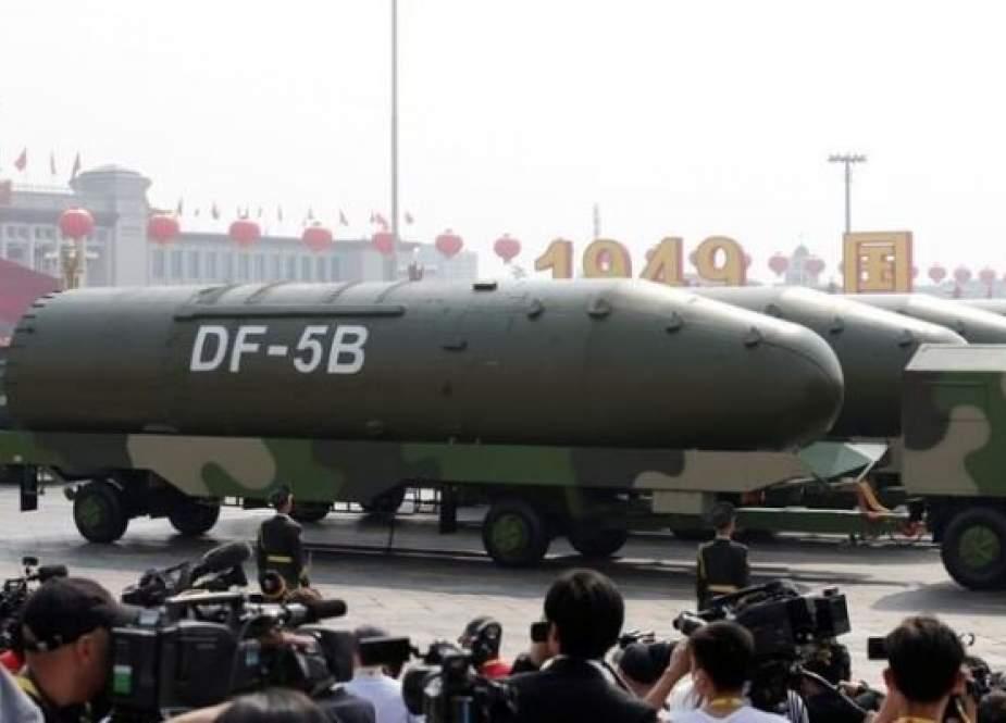 آمریکا: قدرت یابی هسته ای چین نگران کننده است!