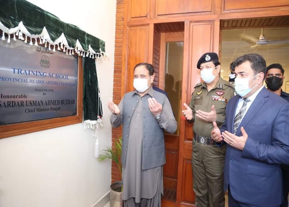 وزیراعلیٰ پنجاب نے 10 اضلاع میں سی ٹی ڈی کے نئے دفاتر کے قیام کا اعلان کر دیا