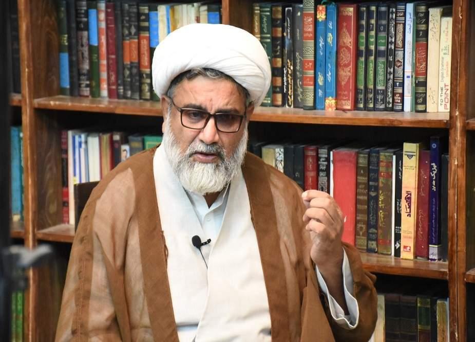 یوم غدیر کی لکیر منافق اور مومن کی راہوں کو جدا کرتی ہے، علامہ ناصر عباس جعفری