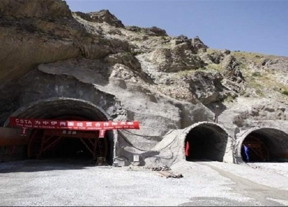 ايران تفتتح اضخم نفق في منطقة غرب آسيا غدا الخميس