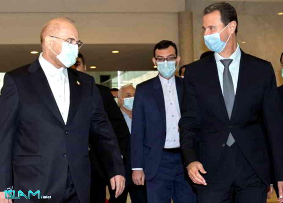 محمد باقر قالیباف کی بشار الاسد کیساتھ ملاقات