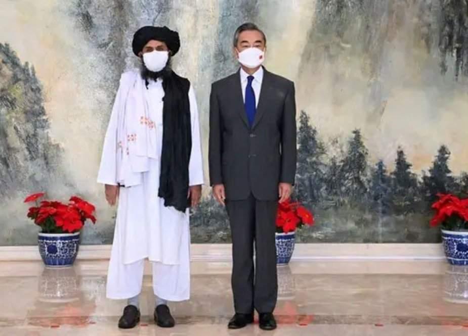طالبان وفد کی چین کے وزیر خارجہ سے اہم ملاقات