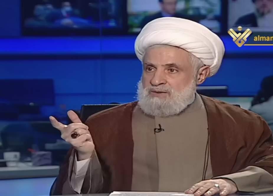 Sheikh Qassem to Al-Manar.jpg
