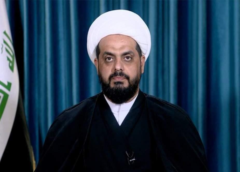 الخزعلي: لا توجد أي نوايا حقيقية لأميركا بالخروج من العراق