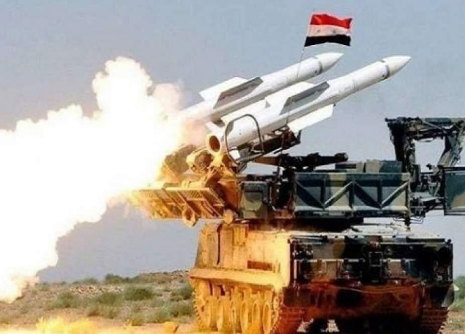 الدفاعات الجوية السورية تدمر طائرة مسيرة أطلقها مسلحون