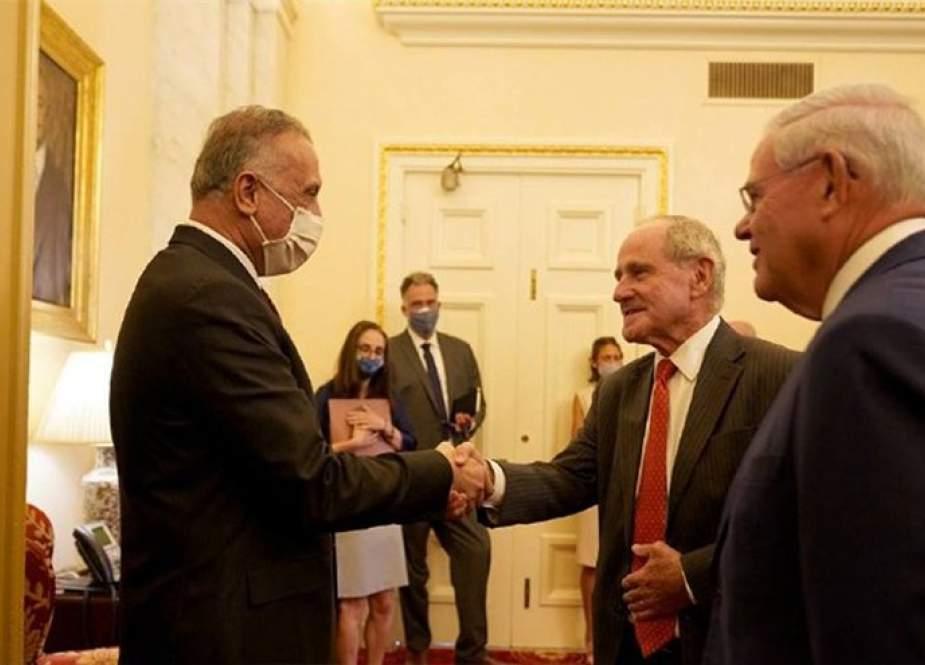 الكاظمي يتطلع لبناء علاقات شراكة بين العراق وأمريكا