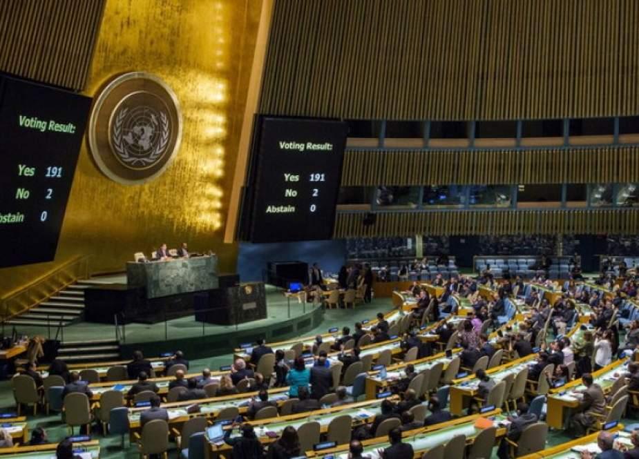 موسكو تدعو واشنطن وكييف لدعم القرار الأممي حول محاربة تمجيد النازية
