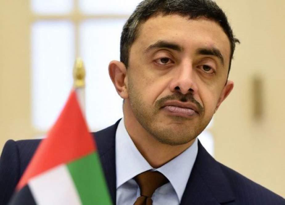 وزير الخارجية الإماراتي يتصل هاتفيا بنظيره التونسي