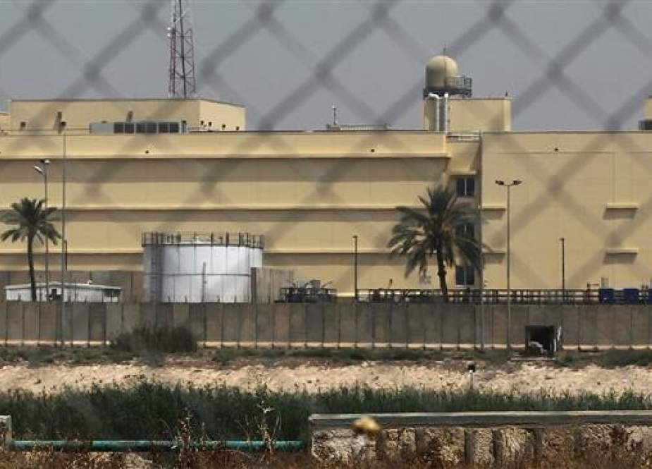 US Embassy compound in Baghdad