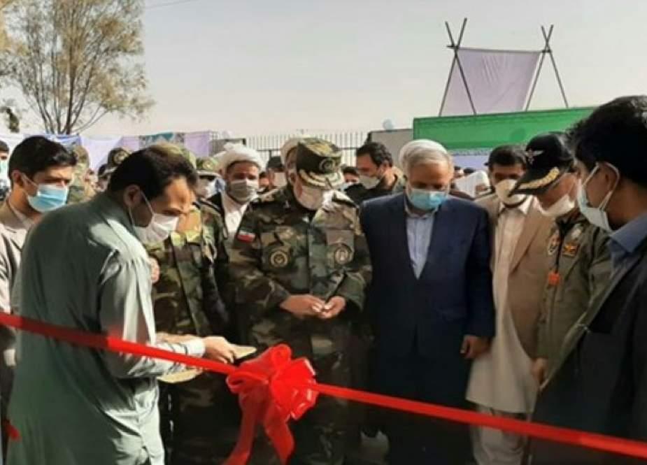 القوة البرية الإيرانية تدشن ثاني مستشفى للأمراض التنفسية