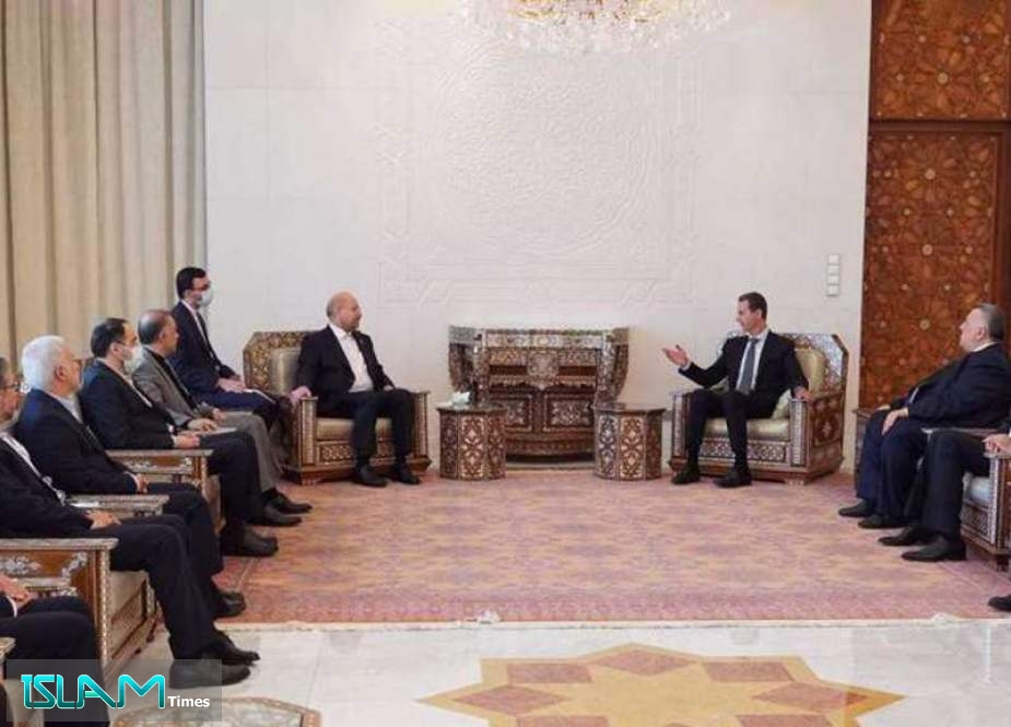 Assad: Iran Is Key Partner to Syria, Coordination in War against Terrorism Gave Positive Results
