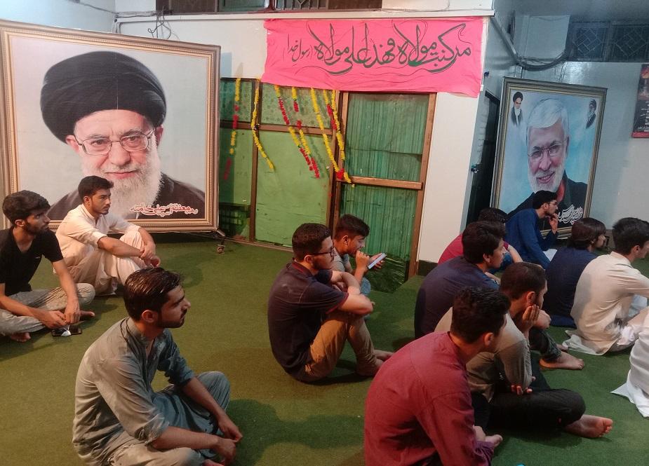 آئی ایس او کے مرکزی دفتر میں جشن غدیر منایاجا رہا ہے