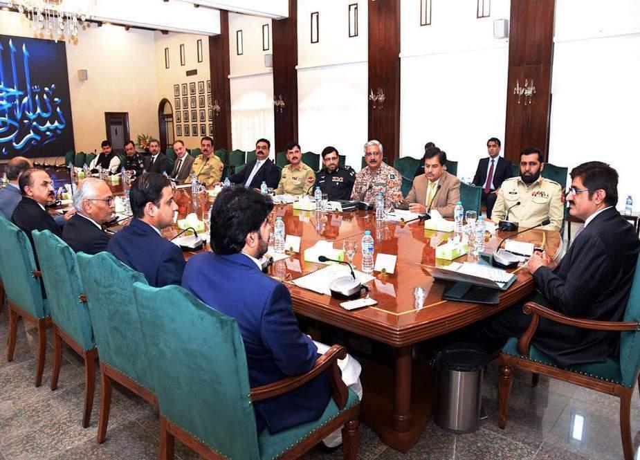 ایپکس کمیٹی اجلاس، سندھ بھر میں سکیورٹی کے اقدامات سخت کرنے کا فیصلہ
