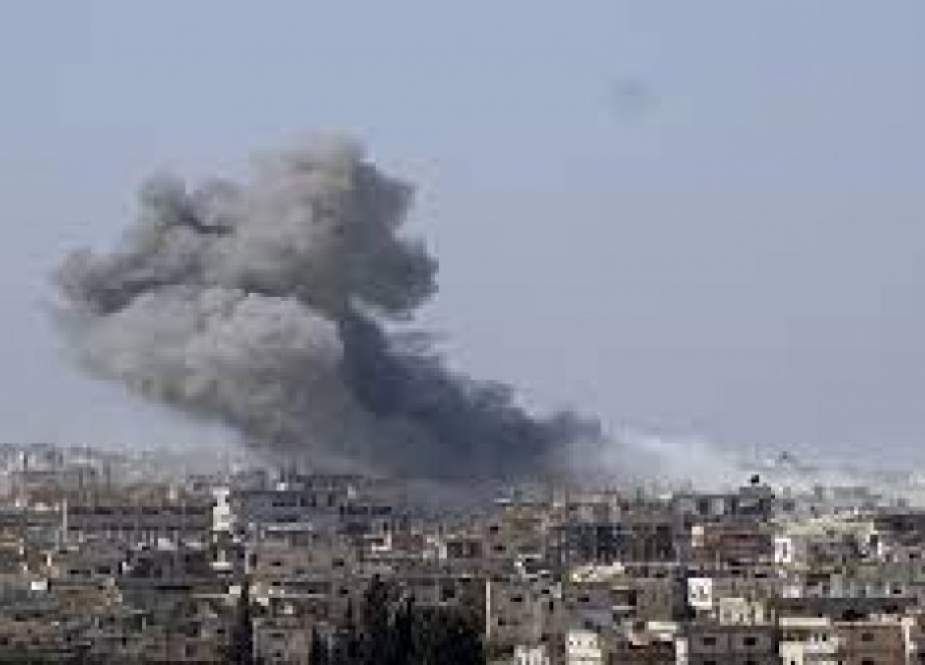 الارهابيون يستهدفون مشفى ومنازل المواطنين في درعا