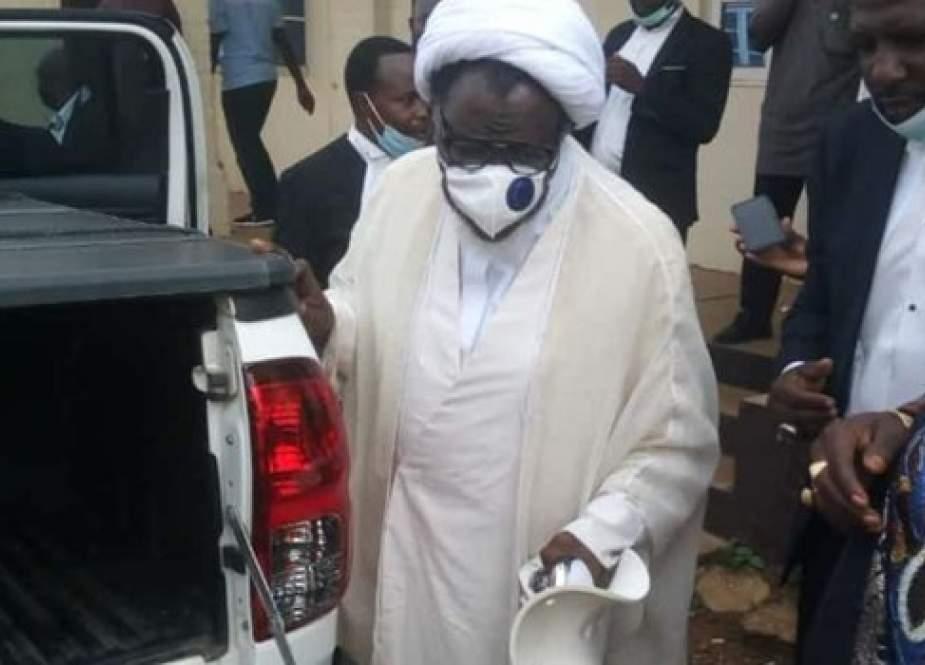 الشيخ ابراهيم الزكزاكي حراً