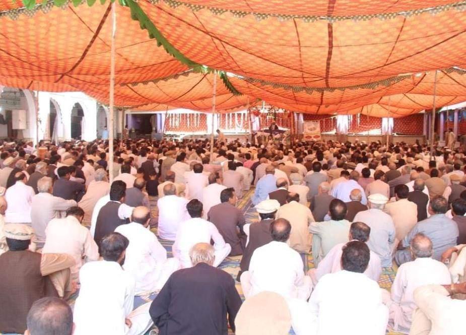 پاراچنار، عید غدیر کی مناسبت سے مرکزی امام بارگاہ میں دو روزہ جشن