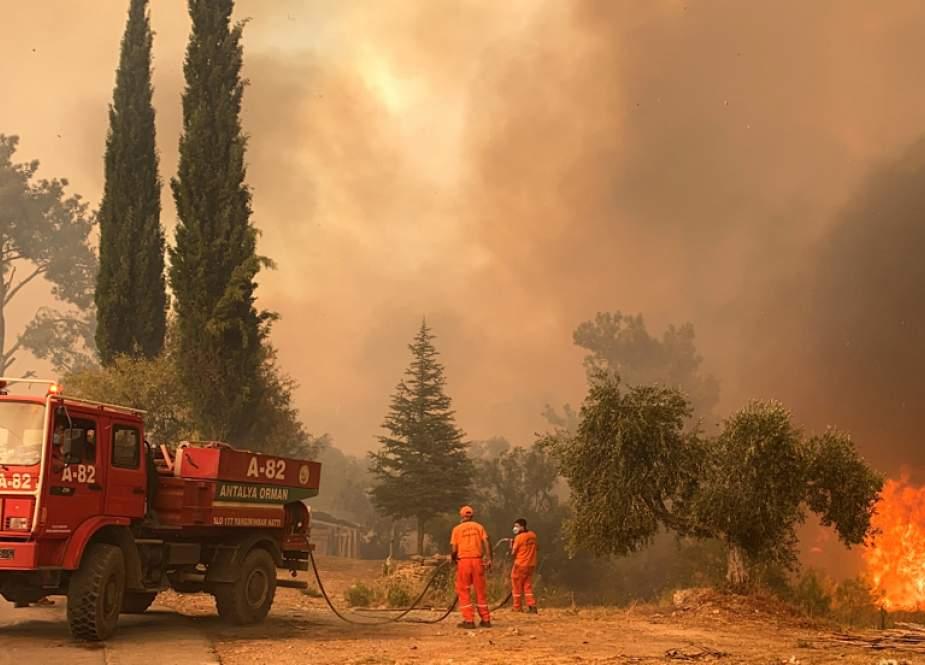 Iran Mengatakan Siap Membantu Turki Terkait Kebakaran Hutan Di wilayah Selatan