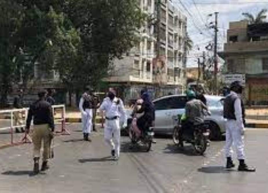 سندھ میں آج سے لاک ڈاؤن نافذ، ڈبل سواری پر بھی پابندی عائد