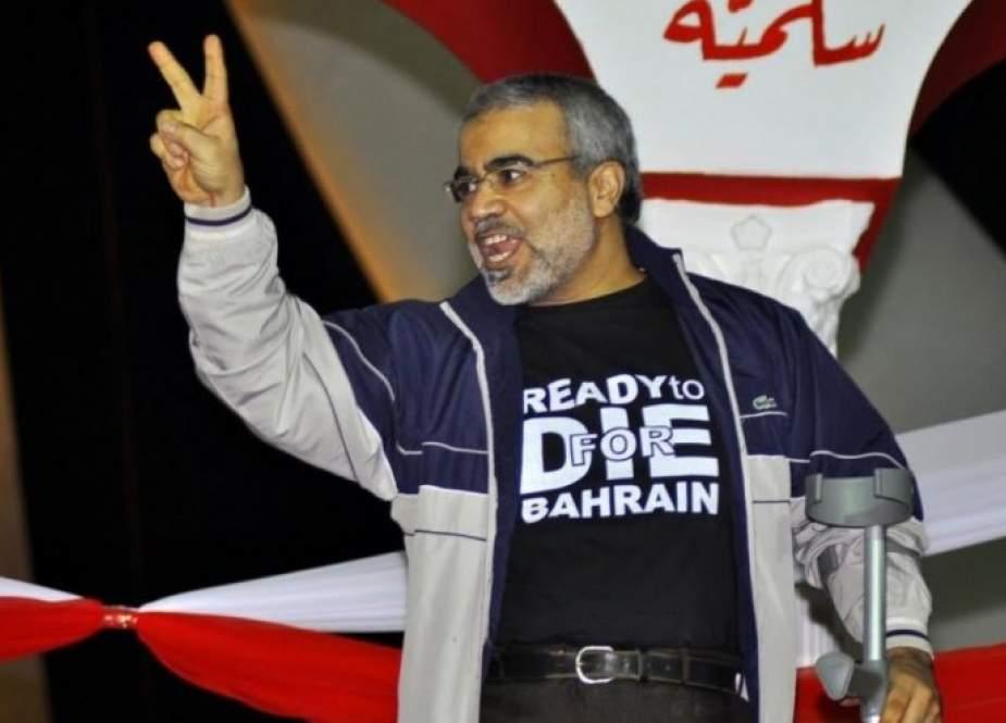 مطالبات حقوقية وأسرية بالإفراج عن المعارض البحريني السنكيس