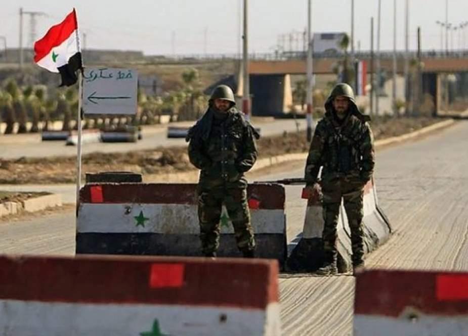 الدفاع الروسية تعلن تحقيق الاستقرار في درعا