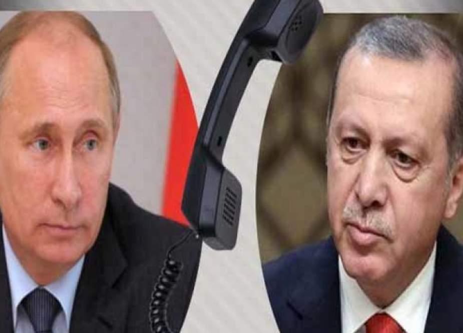 بوتين يؤكد لأردوغان مواصلة المساعدة الروسية في إخماد حرائق تركيا