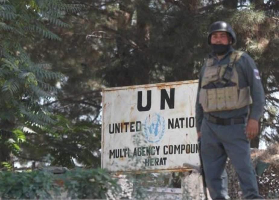 افغانستان میں اقوام متحدہ کی عمارت پر حملہ