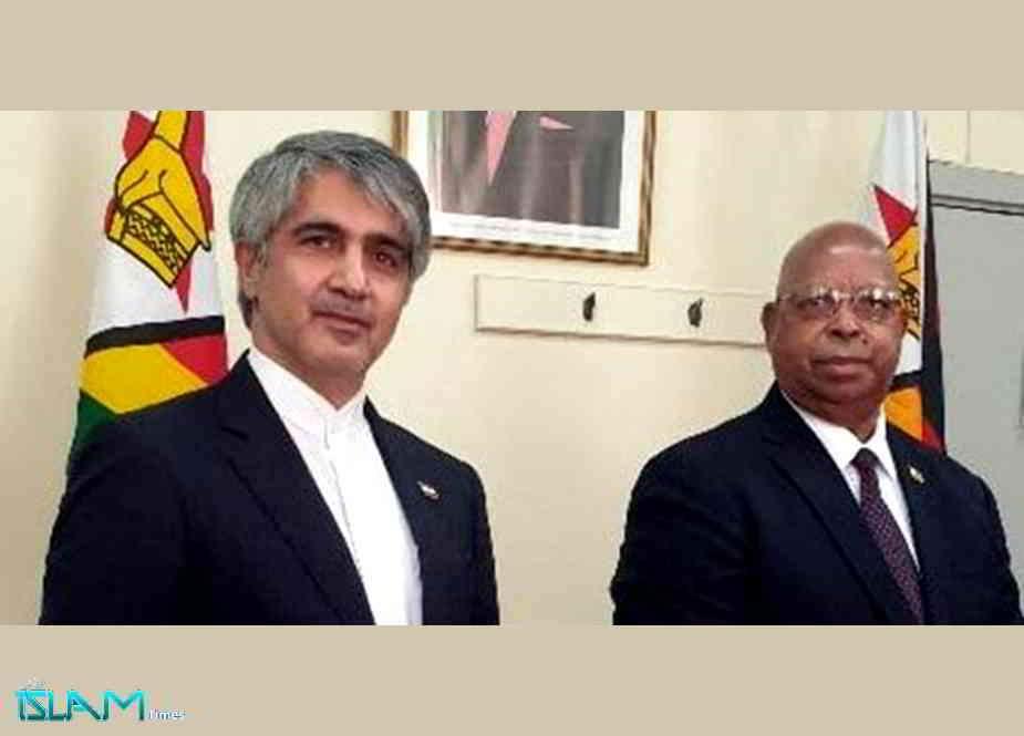 ایران و زمبابوے کا غیرقانونی امریکی پابندیوں کو غیر موثر بنانے پر اتفاق