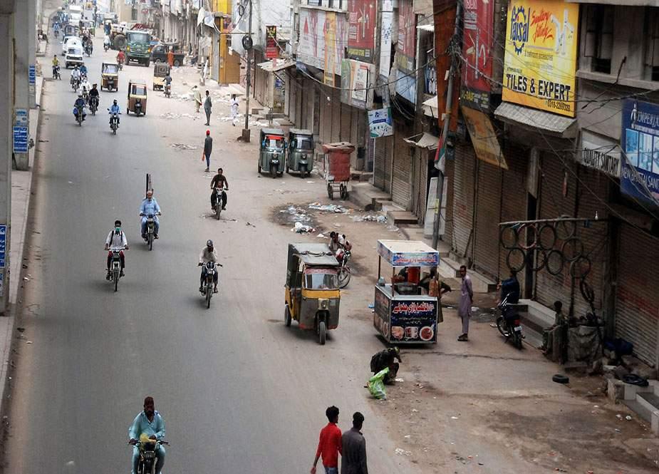 سندھ میں لاک ڈاؤن کا پہلا دن، ایس او پیز کی خلاف ورزیاں، مزدور پریشان
