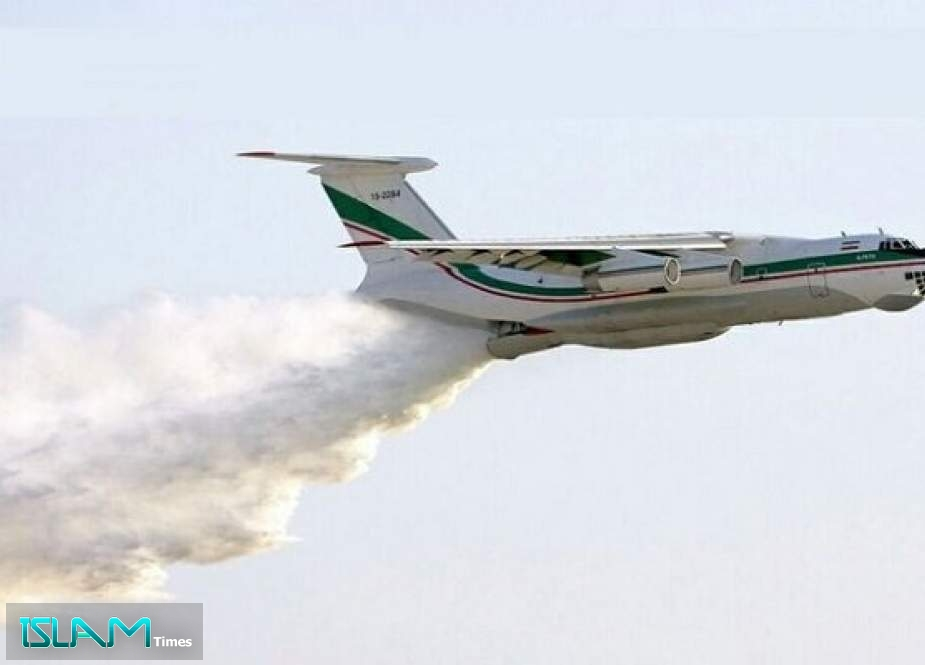 Iranian Plane Launches First Firefighting Operation in Turkey