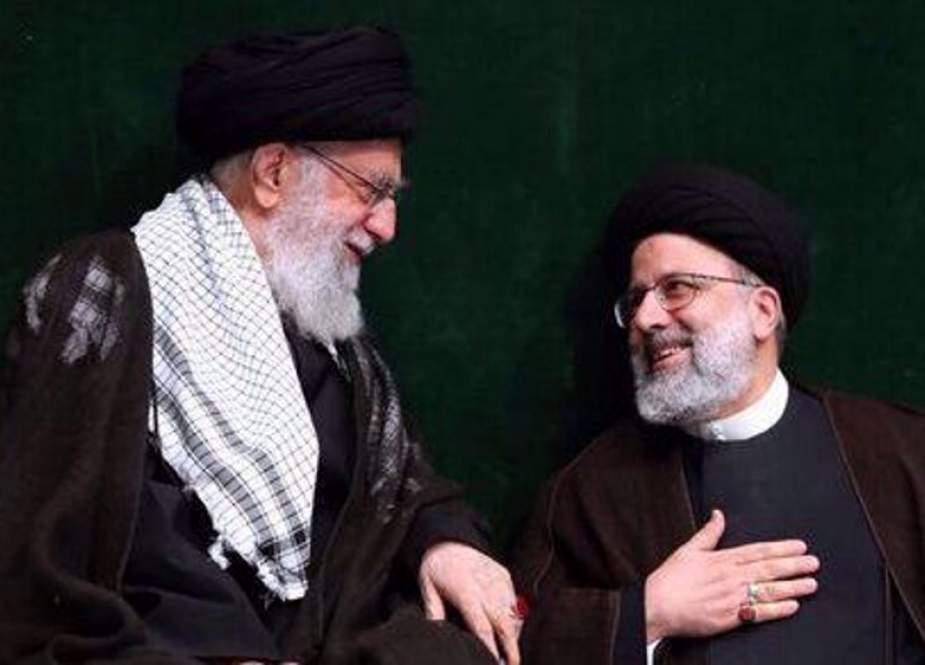 Ayatollah Sayyed Ali Khamenei and Seyyed Ebrahim Raeisi.jpg