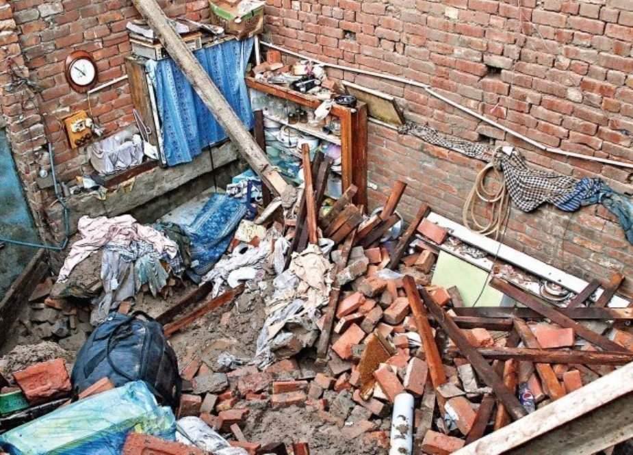 لودھراں میں مکان کی چھت گرنے سے 5 بچے جاں بحق