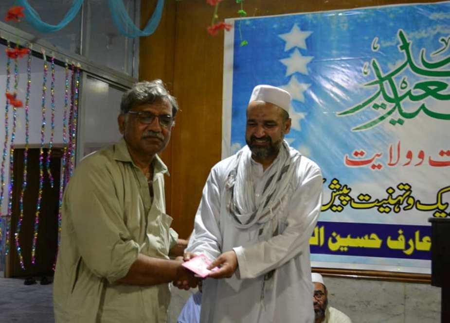پشاور، جامعہ شہید عارف الحسینی میں جشن غدیر کا اہتمام