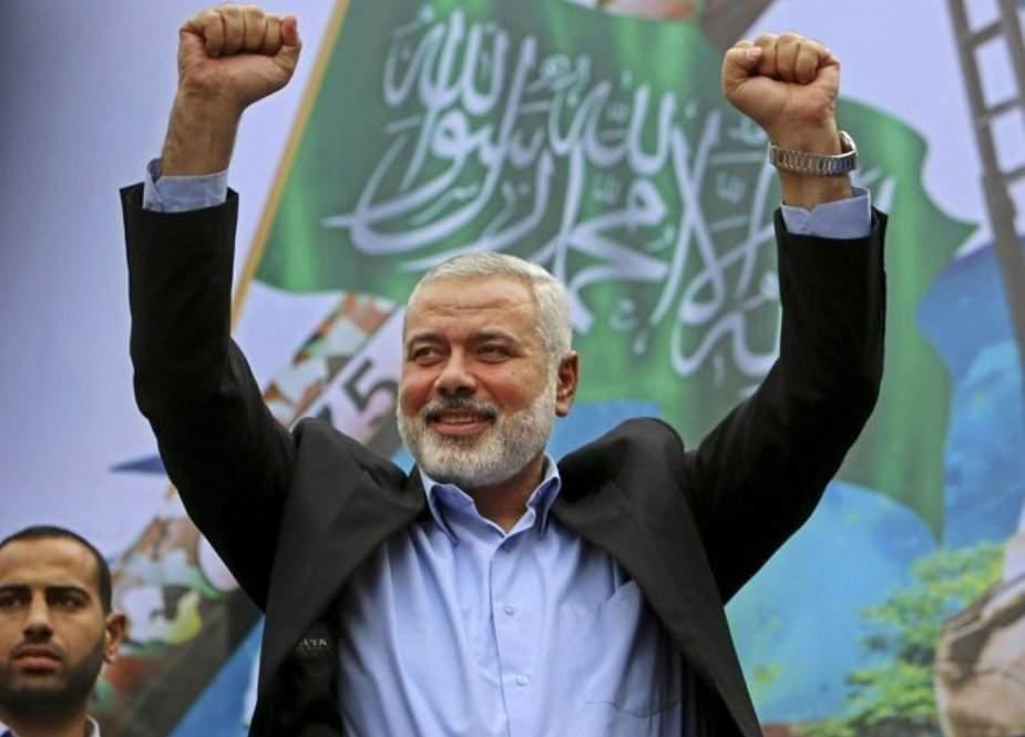 اسماعیل ہنیہ دوسری بار حماس کے سربراہ منتخب