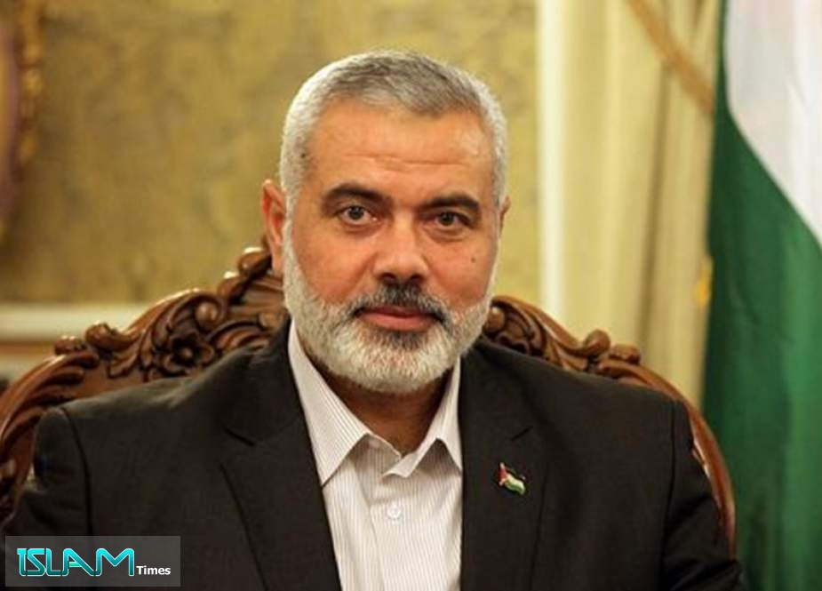 Haniyeh Re-elected as Chief of Palestinian Resistance Movement Hamas for 4 More Years