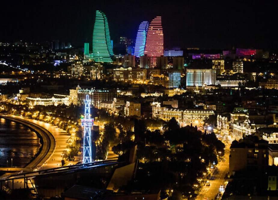 Baku, ibukota Azerbaijan.