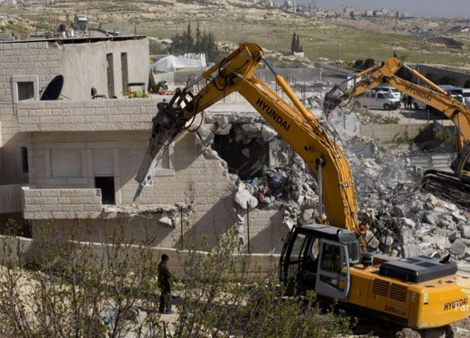 تخریب یا مصادره نزدیک به 60 خانه متعلق به فلسطینیها توسط رژیم صهیونیستی طی 2 هفته!