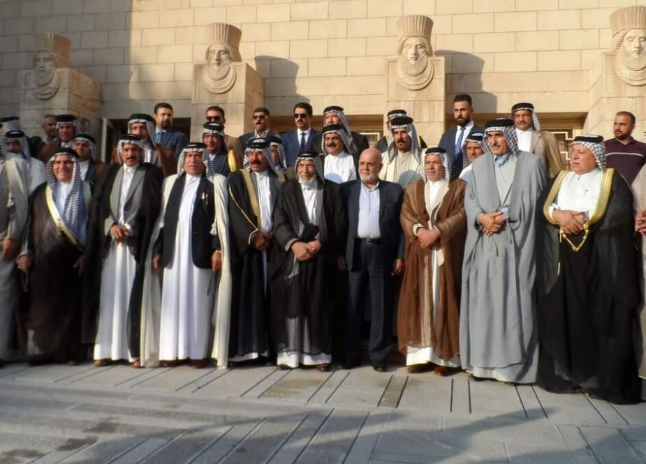 رؤساء العشائر العراقية يطلبون اللقاء مع قائد الثورة الاسلامية