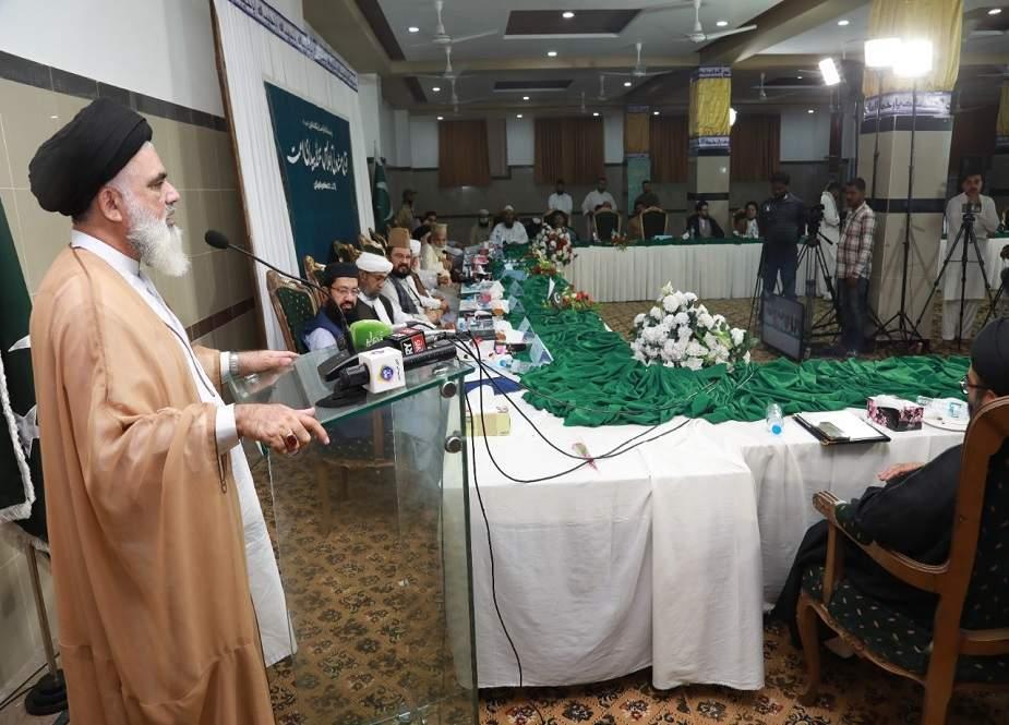 پاکستان کے تمام وفاق ہائے دینی مدارس کا متحد ہوکر چلنے پر اتفاق