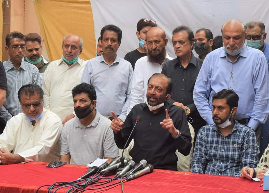 کراچی کی نمائندہ جماعتوں کا کمیشن بناکر شہری سندھ ان کے حوالے کیا جائے، فاروق ستار